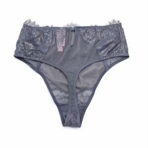 Victoria's Secret Intimates & Sleepwear - VICTORIA'S SECRET Dream Angels Silver Thong S NWT